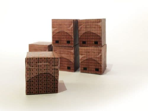AX030-OO Palletised Loads Set 3 Red Bricks (Pack of 12) OO/4mm/1:76
