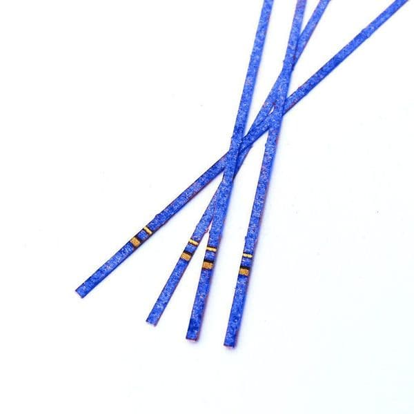 AX034-OO Extra Long Ratchet Straps (Blue) (Pack of 47) OO/4mm/1:76