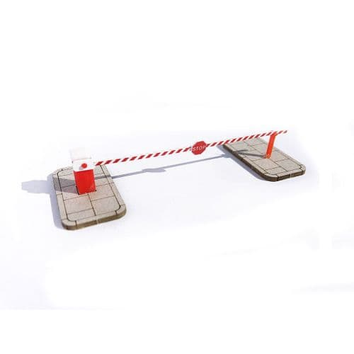 AX090-OO Rising Arm Automatic Traffic Barriers (Pack of 2) – OO/4mm/1:76
