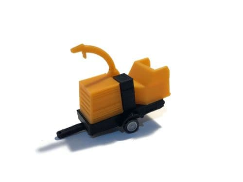 AX102-OO Mobile Chipper / Tree Shredder Trailer Kit OO/4mm/1:76