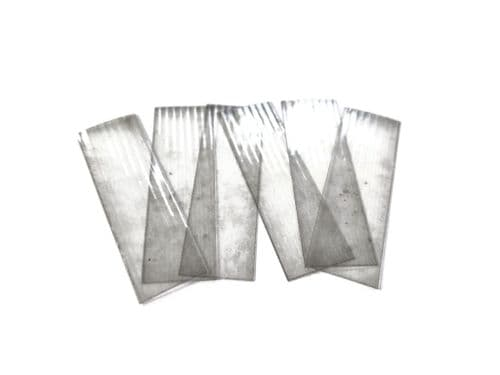 AX135-OO Weathered Corrugated Polycarbonate Roofing Sheets - OO/4mm/1:76