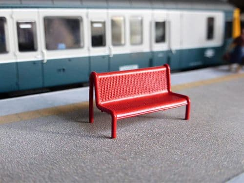 AX151-OO Modern Image Platform Benches (Pack of 3) OO/4mm/1:76