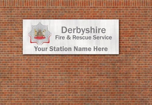 Customised Fire Station Signs OO/4mm/1:76