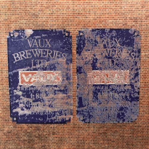 DC027-OO Vaux Breweries Ghost Sign - Self Adhesive Transfer (Pack of 2) - OO/4mm/1:76