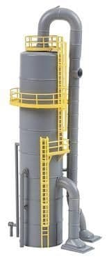 Faller 130177 Chemical Plant Column with Pipes Kit OO/HO