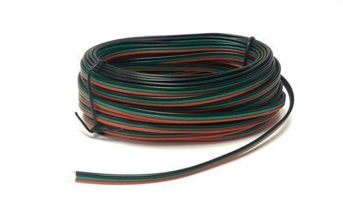 Gaugemaster GMC-PM51 Point Motor Wire (Red/Green/Black) 10m Tripled (14 x 0.15)