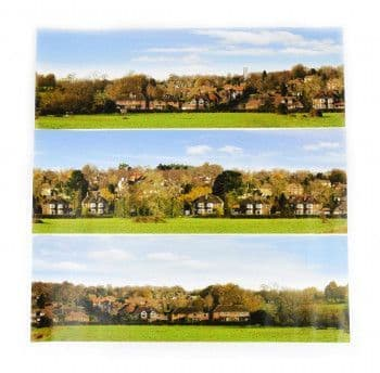 GM754 VILLAGE SMALL PHOTO BACKSCENE (1372X152MM)