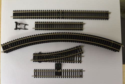 Hornby R1173 Track Bundle 3rd Radius Oval  Track Pack A