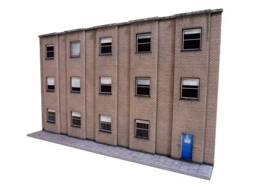 KX003-OO Low Relief Modern Office Block OO/4mm/1:76