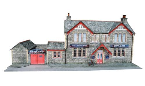 KX005-OO Country Pub/Victorian Ale House OO/4mm/1:76