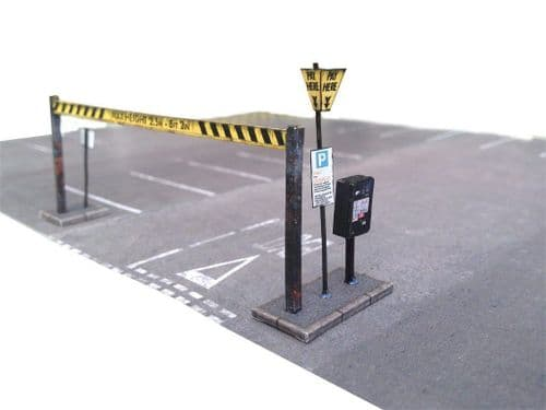 KX030-OO Pay & Display Car Park Kit OO/4mm/1:76