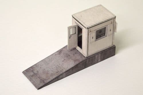 KX033-OO Security Hut/Gatehouse OO/4mm/1:76