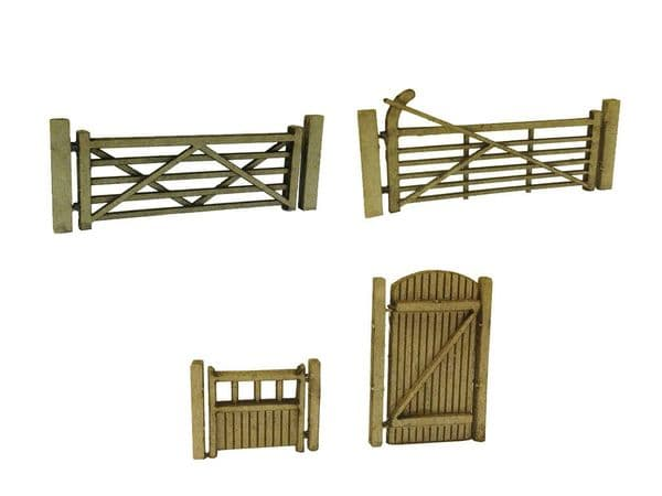 LX001-2-3-N Laser Cut Gates Multi Pack N/2mm/1:148