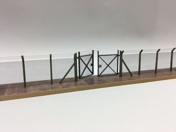 LX007-72 Laser Cut Chain Link Security Fencing 1:72
