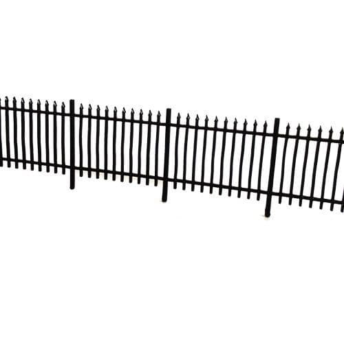 LX011-OO Laser Cut 6ft Wrought Iron Railings OO/4mm/1:76