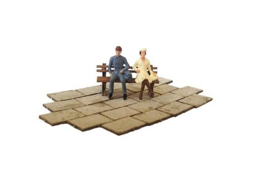 LX020-OO Laser Cut Paving Slabs (2ft x 3ft) OO/4mm/1:76