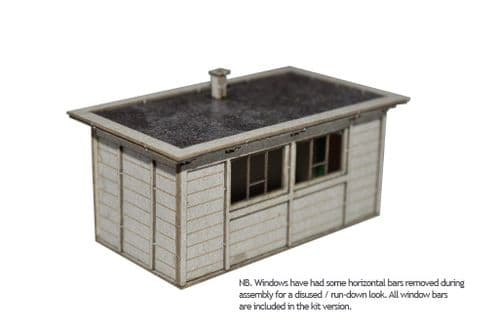 LX032-OO Laser Cut LNER Sectional Concrete Hut (Pack of 2) OO/4mm/1:76