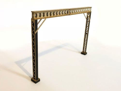 LX050-OO Laser Cut Castellated Beam OHLE Catenary Headspan (Pack D) OO/4mm/1:76