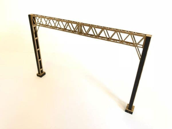 LX050-OO Laser Cut Lattice Girder OHLE Catenary Headspan (Pack C) OO/4mm/1:76