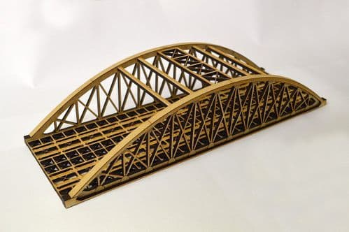 LX076-OO Double Track Bowstring Bridge OO/4mm/1:76