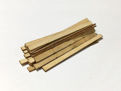 LX098-OO Laser Cut 13ft Scaffolding Planks (Pack of 30) OO/4mm/1:76
