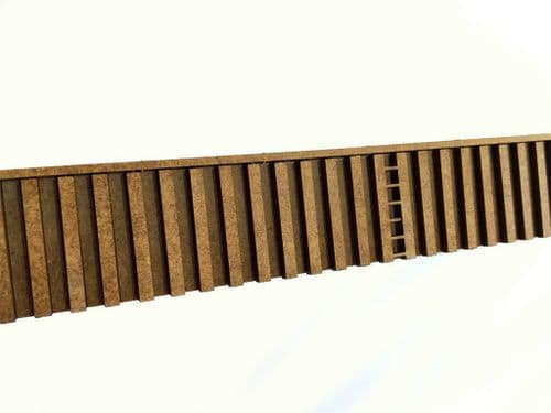 LX107-OO Canal Piling (600mm) OO/4mm/1:76