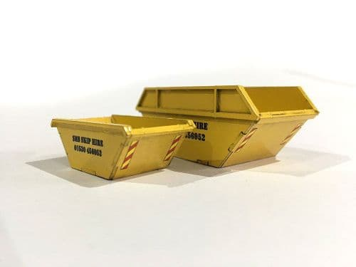 LX110-OO Rubbish Skips (Pack of 5) OO/4mm/1:76