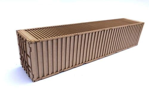 LX175-N 40ft Shipping Container Kit (Pack of 2) N/2mm/1:148