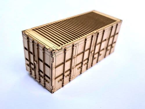 LX178-OO M.O.D. 20ft Side Opening Shipping Container Kit (Pack of 1) OO/4mm/1:76