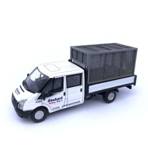 LX195-OO Rear Cage For Oxford Diecast Ford Transit Pickup - OO/4mm/1:76