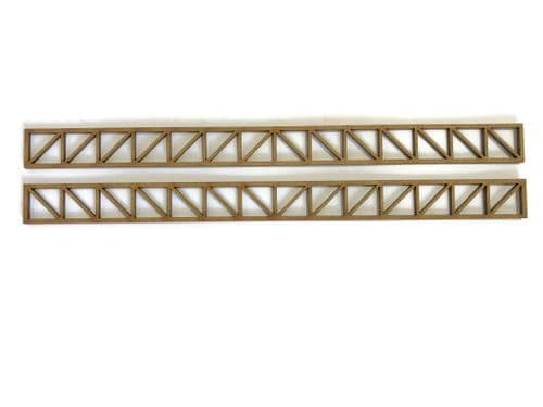 LX266-OO Girders Set 1 - 200mm x 16mm (Pack of 2) - OO/4mm/1:76