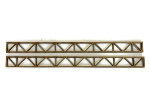 LX267-OO Girders Set 2 - 200mm x 16mm (Pack of 2) - OO/4mm/1:76