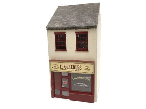 LX359-OO Low Relief Modern Image Mix & Match Shop Terraced Shop 1 (With 6mm base) - OO/4mm/1:76