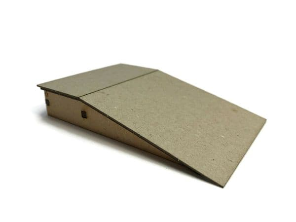 LX399-OO Single-Sided Platform Ramps (100mm x 66mm) (Pack of 2) - OO/4mm/1:76 (1)