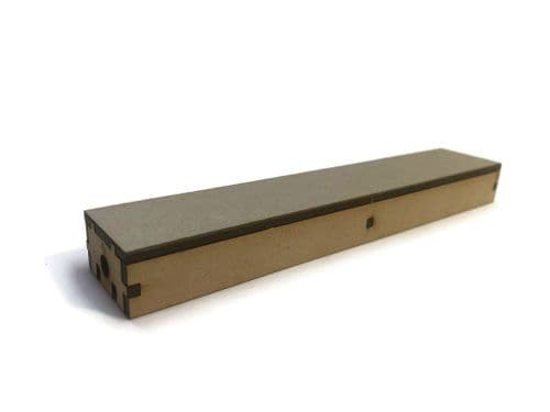 LX400-OO Half-Width Straight Platform Extension (168mm x 31mm) (Pack of 2) - OO/4mm/1:76