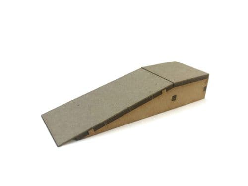 LX407-OO Half-Width Platform Ramps (100mm x 31mm) (Pack of 2) - OO/4mm/1:76