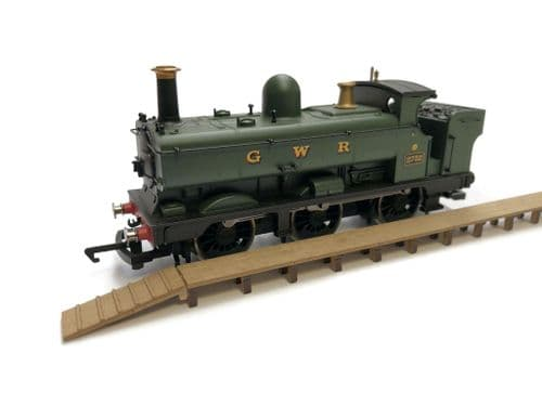 LX409-OO Steam Era Low-Level Wooden Walkway (Pack of 2) - OO/4mm/1:76