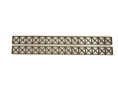 LX425-OO Girders Set 4 - 290mm x 23mm (Pack of 2) - OO/4mm/1:76