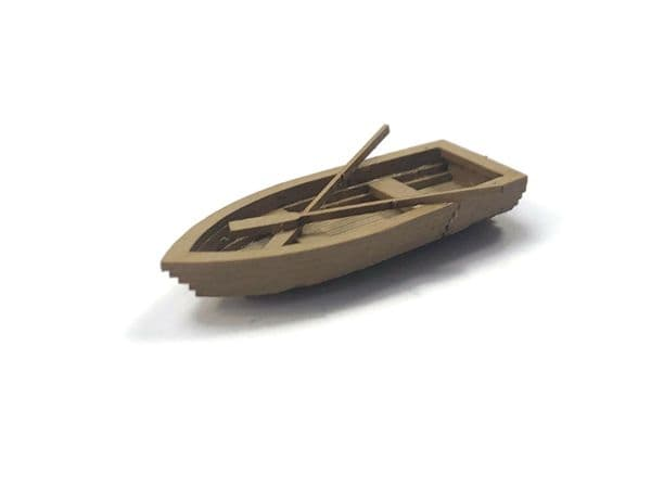LX435-OO Rowing Boats - Full Hull (Pack of 4) - OO/4mm/1:76
