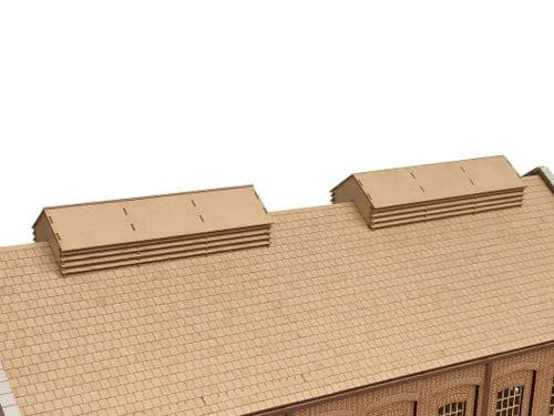 LX449-OO Engine Shed/Goods Shed Roof Vent Louvers