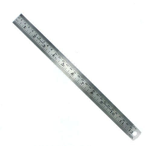 Modelcraft PRU1012 12'' (300mm) Flexible Steel Rule
