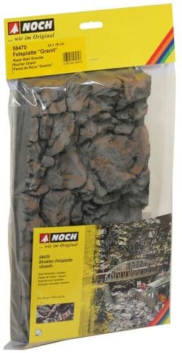 "Noch N58470 Hardfoam Rock Wall ""Granite"""