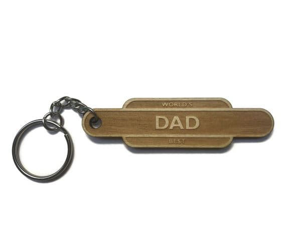 Railway Totem Father's Day Keyring
