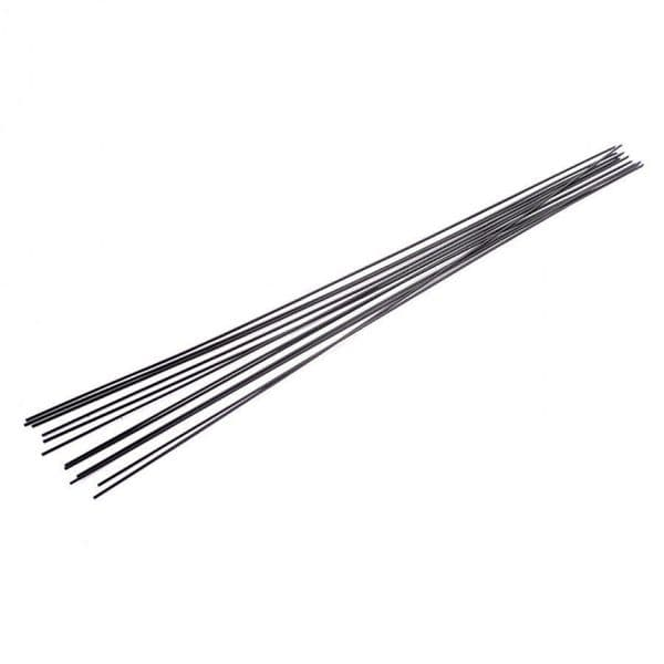 S010-OO Black Wire Rod For Drain Pipes Etc 1.0mm (Pack of 10) OO/4mm/1:76