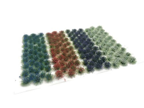 Scale Model Scenery FB012-OO Small Mixed Flower Tufts - OO/4mm/1:76