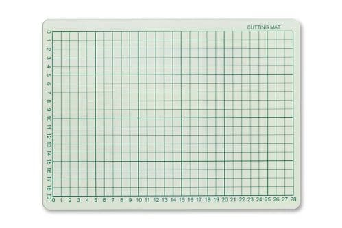 Scale Model Scenery Self Healing Cutting Mat - A4