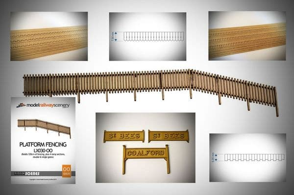 SMS-BP5 Station Steam Era/Heritage Railway Details Pack (OO/HO Scale)