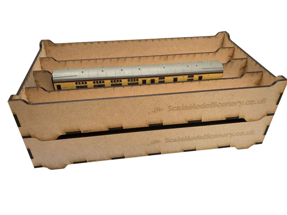 SX010 Stackable Rolling Stock Tray (Sold Singly)