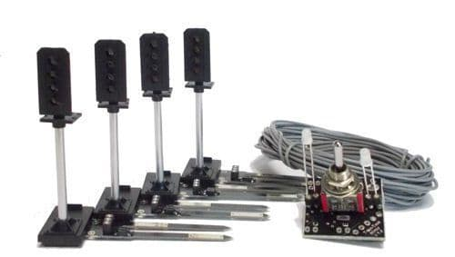 Train Tech SSP1 Sensor Signal Starter Pack (For OO/HO Gauge)