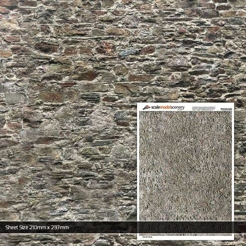 TX220-OO Old Stone Wall (Pack of 5) OO/4mm/1:76